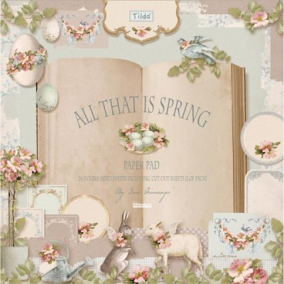 SURTIDO DE PAPEL 30X30CM BY TILDA 'ALL THAT IS SPRING