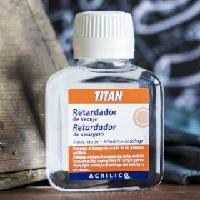 TITAN RETARDADOR DE SECADO PARA ACRILICO 100 ML
