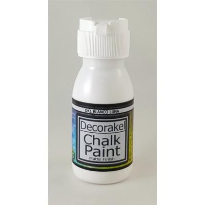 decorakel chalk paint DK1 blanco luna 60 ml