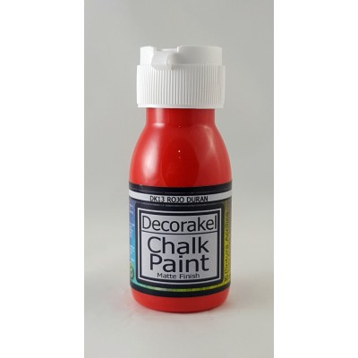 decorakel chalk paint DK13 rojo duran 60 ml
