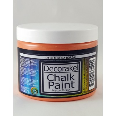 decorakel chalk paint DK10 aurora boreal 200 ml