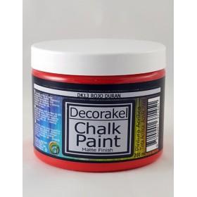 decorakel chalk paint DK13 rojo duran 200 ml