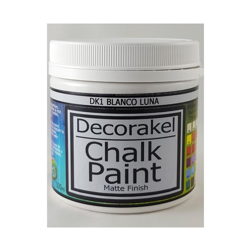 decorakel chalk paint DK1 blanco luna 500 ml