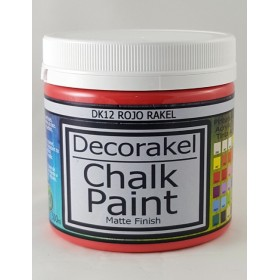 decorakel chalk paint DK12 rojo rakel 500 ml