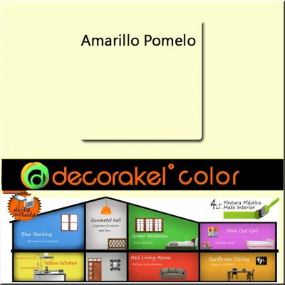 Pintura de interior Decorakel color amarillo pomelo