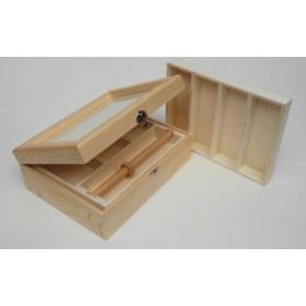 Caja Joyero para Relojes con cristal