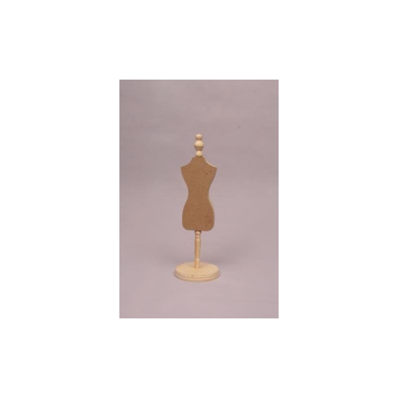Maniquí de madera para Collares