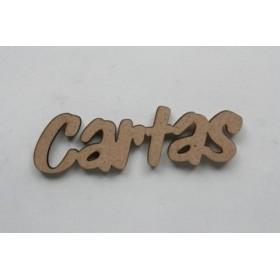 """Palabra en DM """"CARTAS"""""""