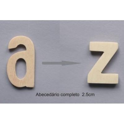 Abecedario completo de 12 unidades por letra