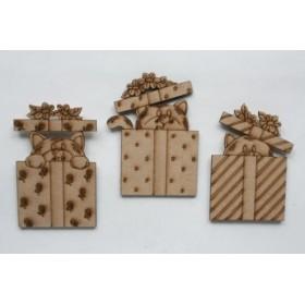 Juego Miniatura de 3 piezas de regalo