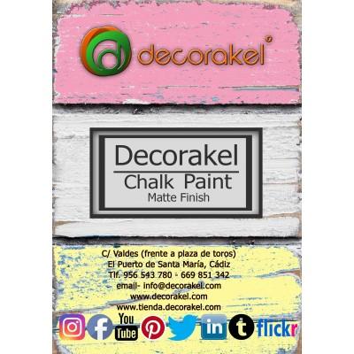 decorakel chalk paint DK20 rikiblue 200 ml