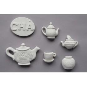 set de 6 piezas de Té