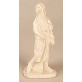 Figura paje de camellos marmolina ref 1309 15 x 5,5 x 7