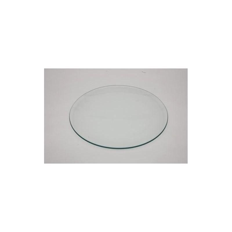 Plato de Cristal Redondo