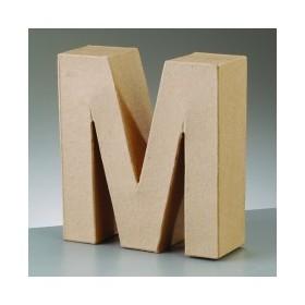 """Letra Cartón """"M"""" 17,5 x 5,5 cm DO-ART"""