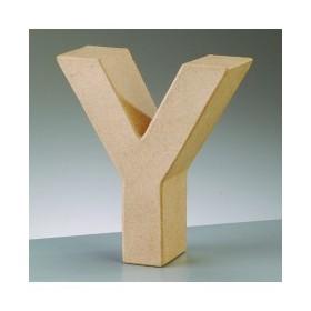 """Letra Cartón """"Y"""" 17,5 x 5,5 cm DO-AR"""
