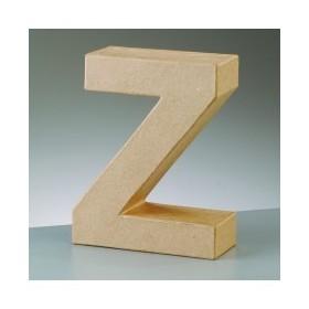 """Letra de Carton """"Z"""" 17.5 x 5.5 cm DO-ART"""