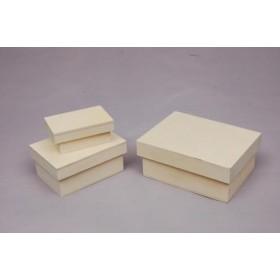 Set de 3 Cajas Rectangulares