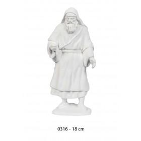 Pastor con bolso 18cm álamo