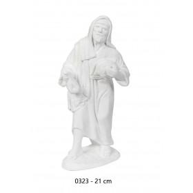 Pastor con panes 21cm álamo