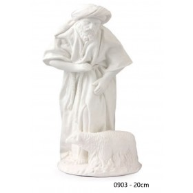 Pastor oveja 20 cm álamo