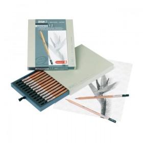 Caja de lápices de grafito...