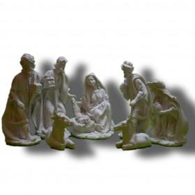belen 7 piezas navidad