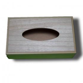 caja madera de pañuelos